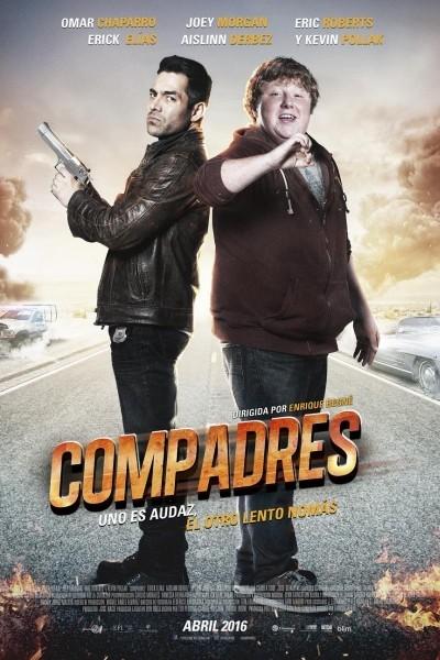 Caratula, cartel, poster o portada de Compadres