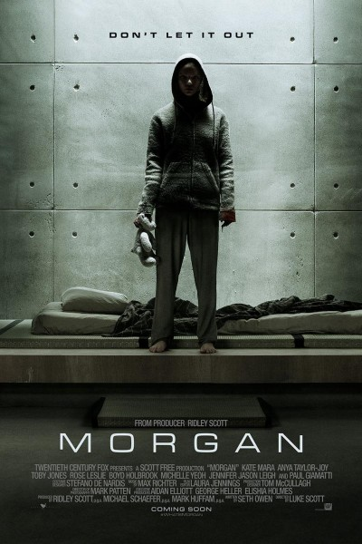 Caratula, cartel, poster o portada de Morgan