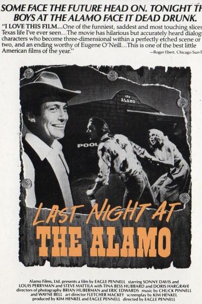 Caratula, cartel, poster o portada de Last Night At The Alamo