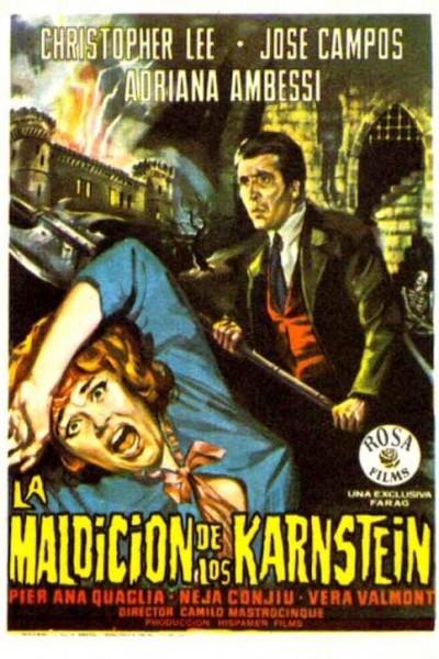 Caratula, cartel, poster o portada de La maldición de los Karnstein