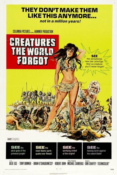 Caratula, cartel, poster o portada de Criaturas olvidadas del mundo