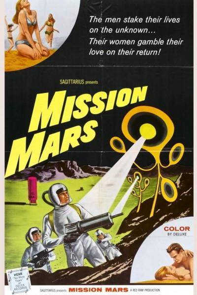 Caratula, cartel, poster o portada de Mission Mars
