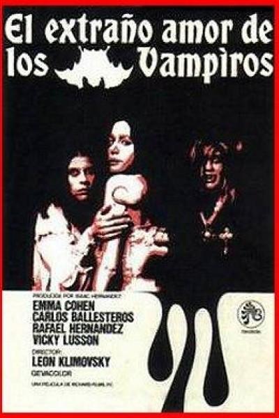 Caratula, cartel, poster o portada de El extraño amor de los vampiros