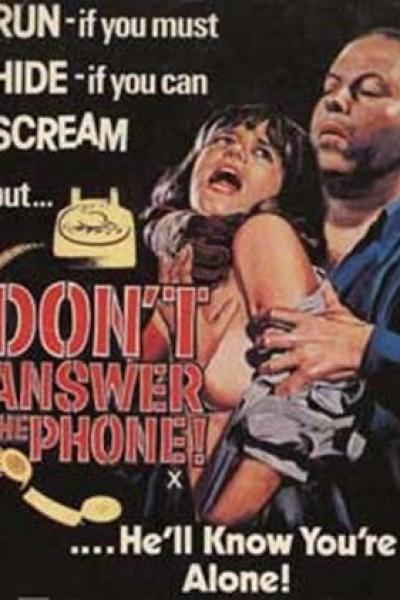 Caratula, cartel, poster o portada de No respondas al teléfono