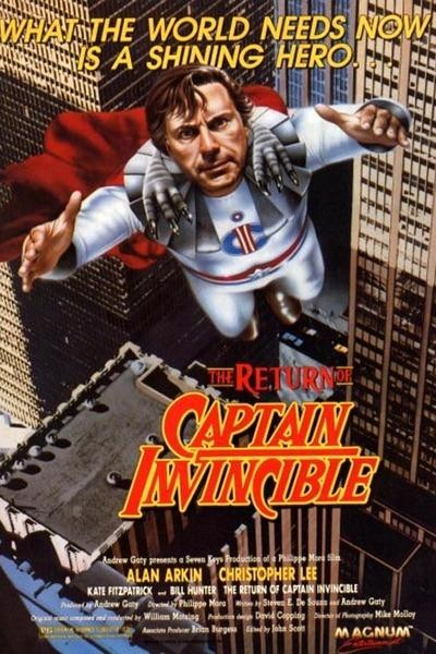 Caratula, cartel, poster o portada de The Return of Captain Invincible