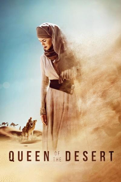 Caratula, cartel, poster o portada de La reina del desierto