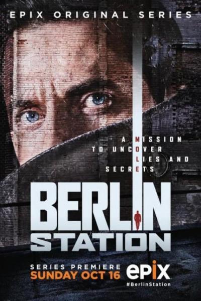 Caratula, cartel, poster o portada de Berlin Station
