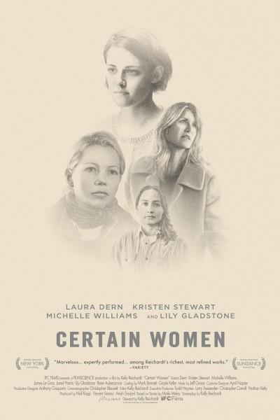 Caratula, cartel, poster o portada de Certain Women: Vidas de mujer