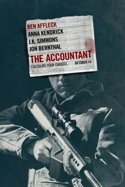 Caratula, cartel, poster o portada de El contable