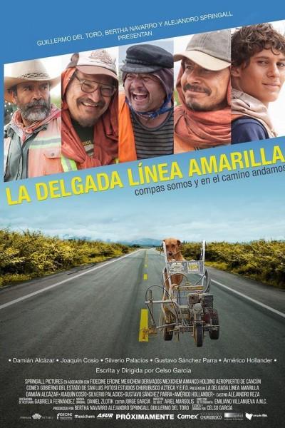 Caratula, cartel, poster o portada de La delgada línea amarilla