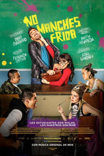 Caratula, cartel, poster o portada de No manches Frida