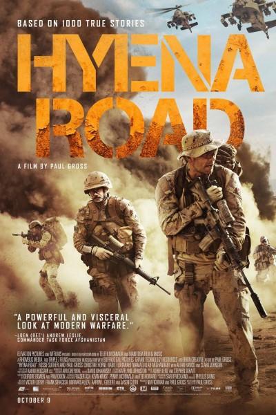 Caratula, cartel, poster o portada de Zona de Combate (Hyena Road)
