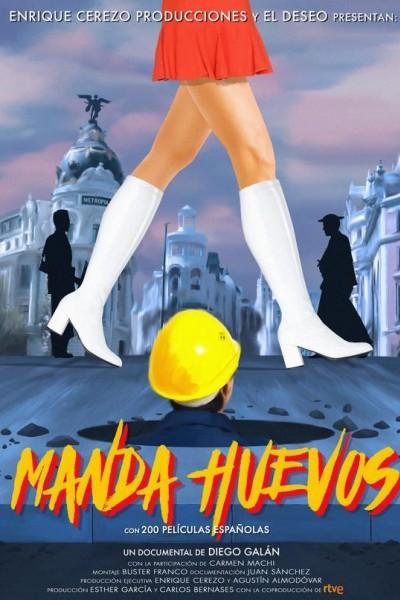 Caratula, cartel, poster o portada de Manda huevos