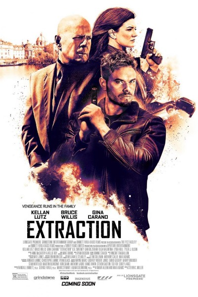 Caratula, cartel, poster o portada de Extraction