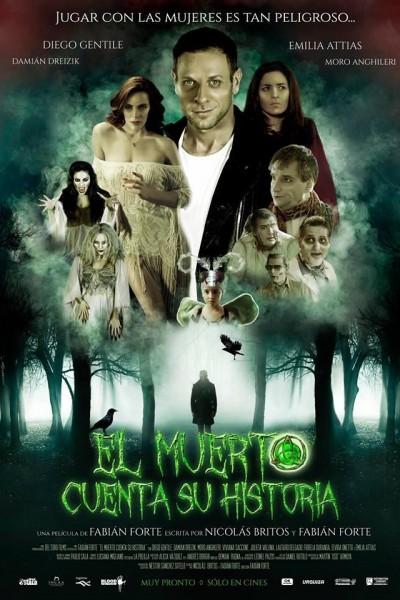 Caratula, cartel, poster o portada de El muerto cuenta su historia
