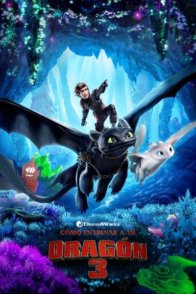 Caratula, cartel, poster o portada de Cómo entrenar a tu dragón 3