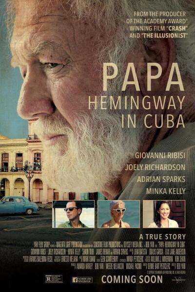 Caratula, cartel, poster o portada de Papa: Hemingway in Cuba