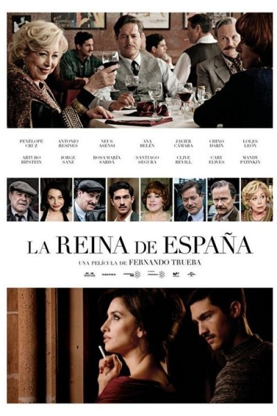 Caratula, cartel, poster o portada de La reina de España