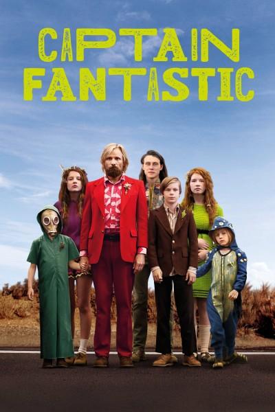 Caratula, cartel, poster o portada de Captain Fantastic