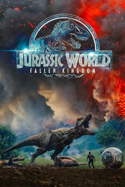 Caratula, cartel, poster o portada de Jurassic World: El reino caído