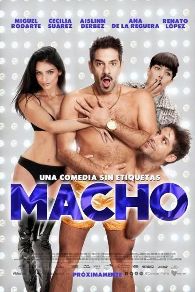 Caratula, cartel, poster o portada de Macho