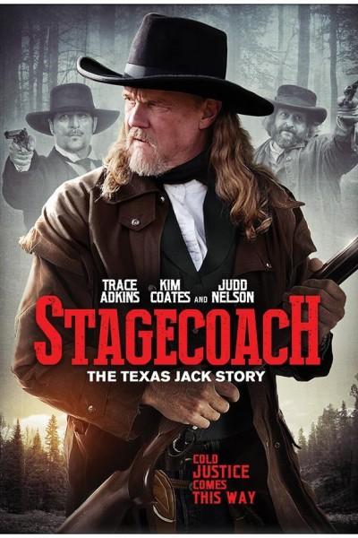 Caratula, cartel, poster o portada de La diligencia: La historia de Texas Jack