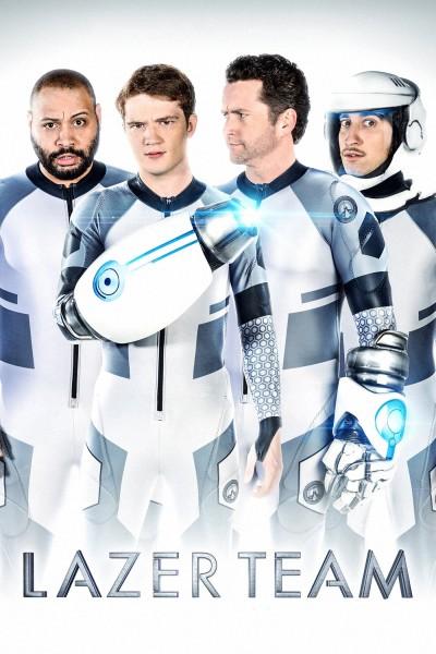 Caratula, cartel, poster o portada de Lazer Team