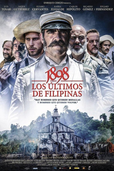 Caratula, cartel, poster o portada de 1898. Los últimos de Filipinas