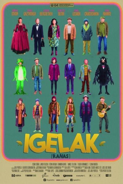 Caratula, cartel, poster o portada de Igelak (Ranas)