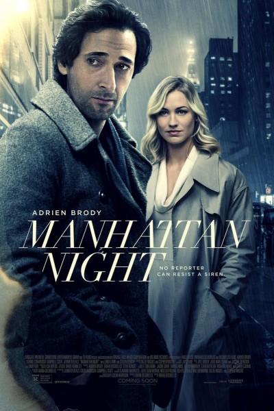 Caratula, cartel, poster o portada de Manhattan nocturno