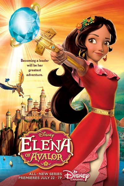 Caratula, cartel, poster o portada de Elena de Avalor