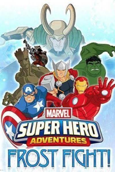 Caratula, cartel, poster o portada de Aventuras de Superhéroes: ¡Lucha en el hielo!