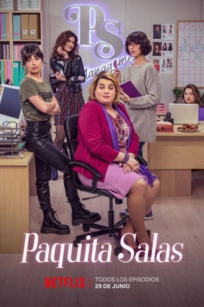 Caratula, cartel, poster o portada de Paquita Salas