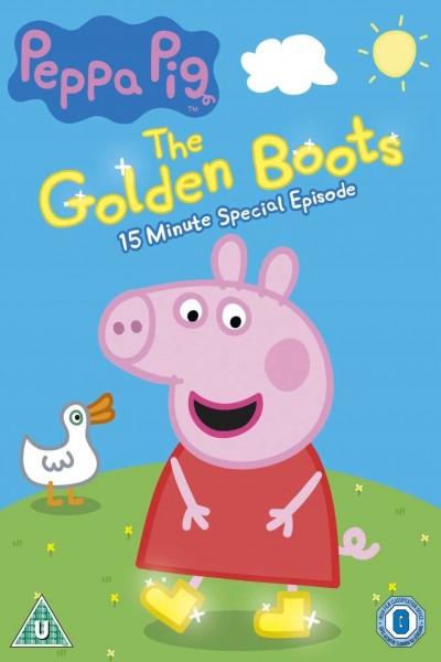 Caratula, cartel, poster o portada de Peppa Pig: Las botas de oro