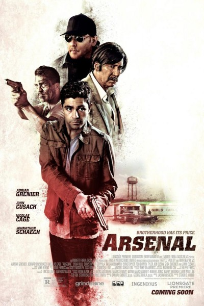 Caratula, cartel, poster o portada de Arsenal