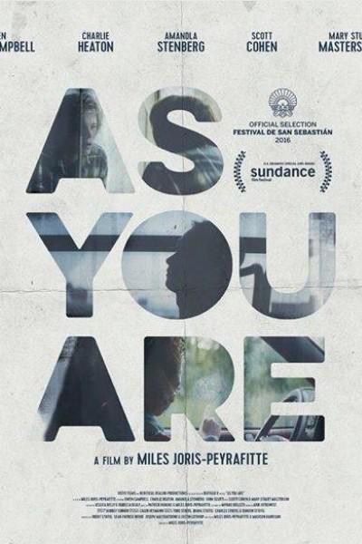 Caratula, cartel, poster o portada de As You Are
