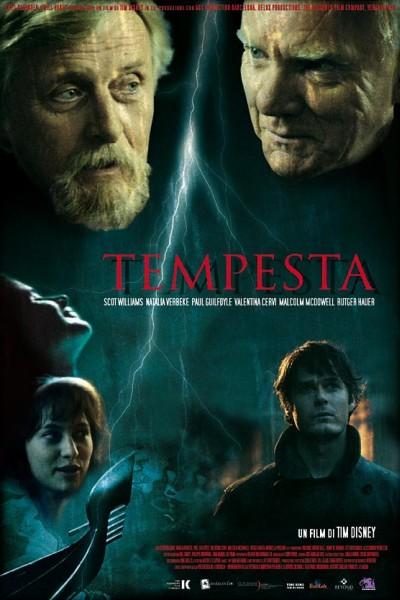 Caratula, cartel, poster o portada de La tempestad (Tempesta)