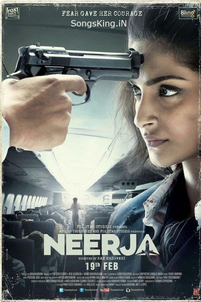 Caratula, cartel, poster o portada de Neerja