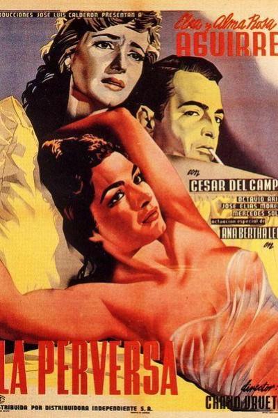 Caratula, cartel, poster o portada de La perversa