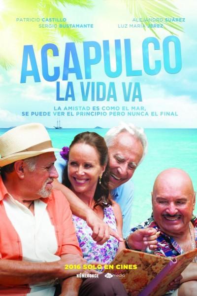 Caratula, cartel, poster o portada de Acapulco, la vida va