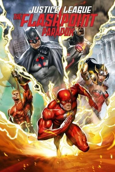 Caratula, cartel, poster o portada de La Liga de la Justicia: La paradoja del tiempo