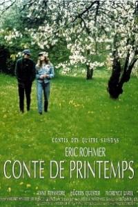 Caratula, cartel, poster o portada de Cuento de primavera