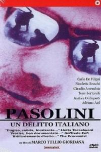 Caratula, cartel, poster o portada de Pasolini, un delito italiano