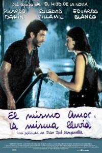 Caratula, cartel, poster o portada de El mismo amor, la misma lluvia
