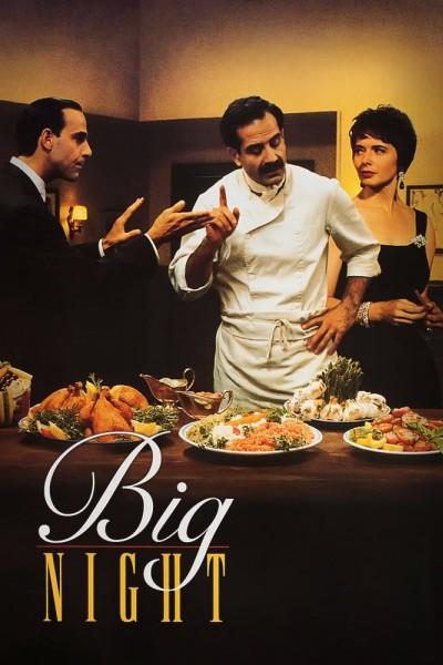 Caratula, cartel, poster o portada de Big Night: Una gran noche