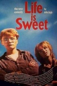 Caratula, cartel, poster o portada de La vida es dulce