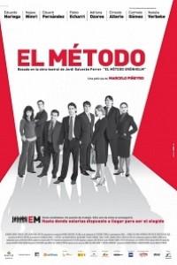 Caratula, cartel, poster o portada de El método