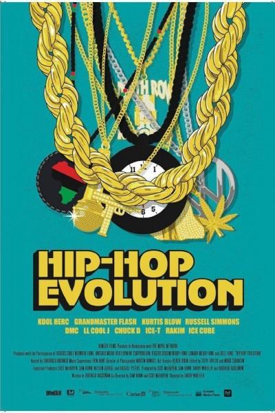 Caratula, cartel, poster o portada de Hip-Hop Evolution