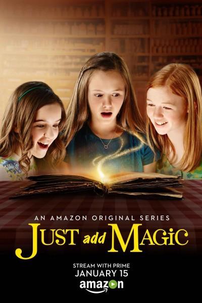 Caratula, cartel, poster o portada de Una pizca de magia
