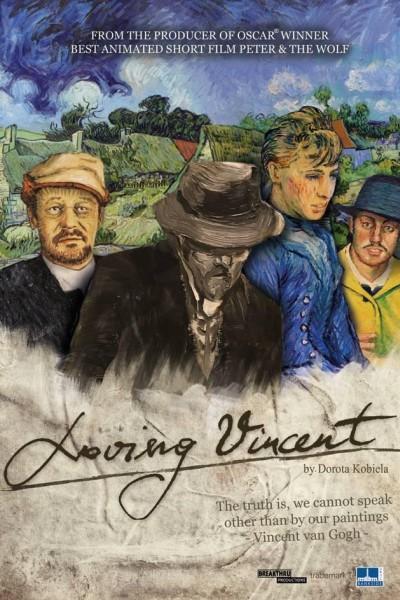 Caratula, cartel, poster o portada de Loving Vincent